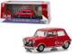 1967 Austin Mini Cooper S 1275 MkI Red The Italian Job 1969 Movie 1/43 Diecast Model Car Greenlight 86550