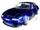 1990 Mazda Miata Endless Candy Blue JDM Tuners 1/24 Diecast Model Car Jada 30942