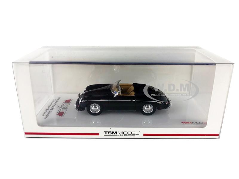 Intermeccanica 356 Speedster Black Charlotte Charlie Blackwood's Top Gun 1986 Movie 1/43 Model Car True Scale Miniatures 430263