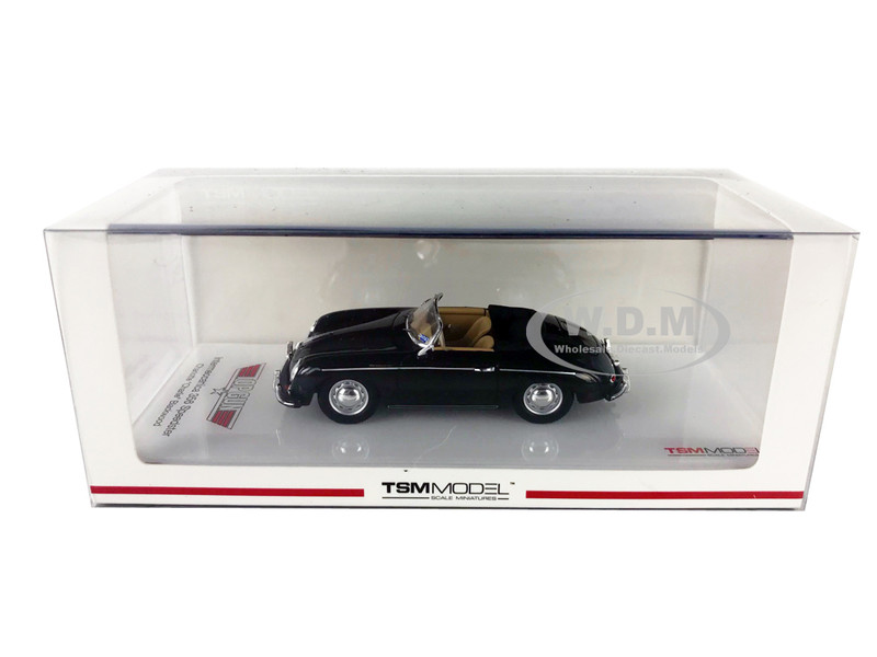 Intermeccanica 356 Speedster Black Charlotte Charlie Blackwood's Top Gun 1986 Movie 1/43 Model Car True Scale Miniatures 430263