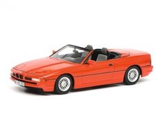 BMW 850i Cabriolet Red Limited Edition 500 pieces Worldwide 1/18 Model Car Schuco 450006800