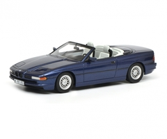 BMW 850i Cabriolet Blue Limited Edition 500 pieces Worldwide 1/18 Model Car Schuco 450006900