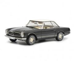 Mercedes Benz 280 SL Dark Gray Limited Edition 750 pieces Worldwide 1/18 Diecast Model Car Schuco 450035100