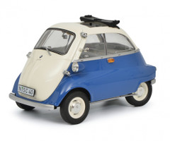 BMW Isetta Export Blue Gray Limited Edition 1000 pieces Worldwide 1/18 Diecast Model Car Schuco 450041100
