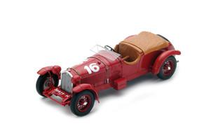 Alfa Romeo 8C #16 Earl Howe Sir Henry Birkin Winners Le Mans 1931 1/18 Model Car Spark 18LM31