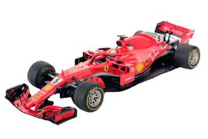 Ferrari SF71H #5 Sebastian Vettel Winner F1 Formula 1 2018 Australian Grand Prix 1/18 Model Car LookSmart LS18F1013