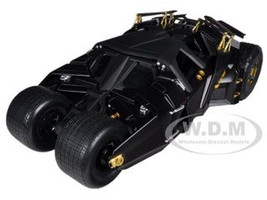 """The Dark Knight"" Trilogy Movie Batmobile Tumbler 1/18 Diecast Model Car Hotwheels BMH74"