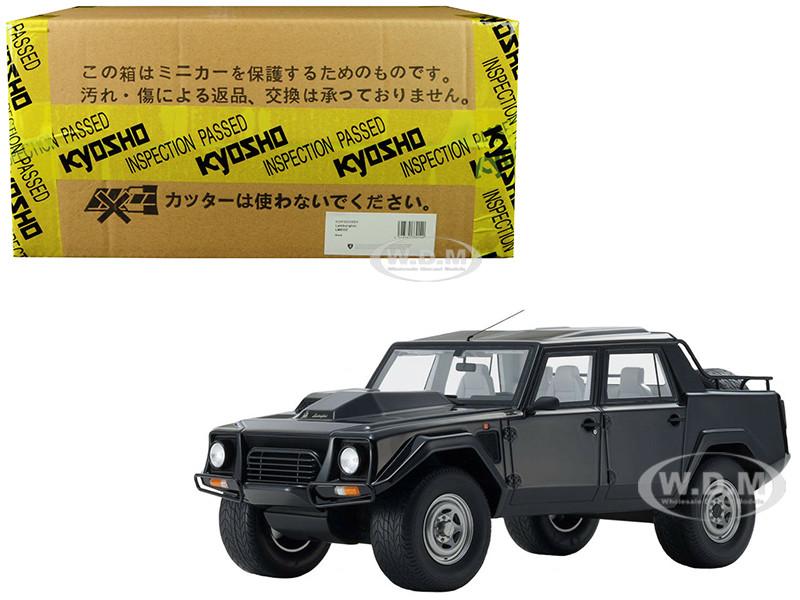 Lamborghini LM002 Black 1/18 Model Car Kyosho KSR18508 BK