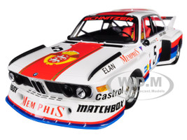 BMW 3.5 CSL #5 Sepp Manhalter Winner Havirov International 1977 Limited Edition 414 pieces Worldwide 1/18 Diecast Model Car Minichamps 155772605