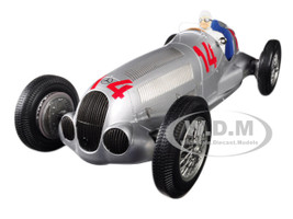 Mercedes Benz W125 Daimler-Benz AG #14 Manfred V Brauchitsch 2nd Place 1937 GP Von Deutschland The German Grand Prix Limited Edition 300 pieces Worldwide 1/18 Diecast Model Car Minichamps 155373114