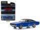 1968 Dodge Charger Dark Blue Black Top Christine 1983 Movie Hollywood Series 22 1/64 Diecast Model Car Greenlight 44820 E