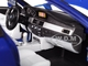 BMW M5 Blue Black Wheels 1/18 Diecast Model Car Maisto 31144