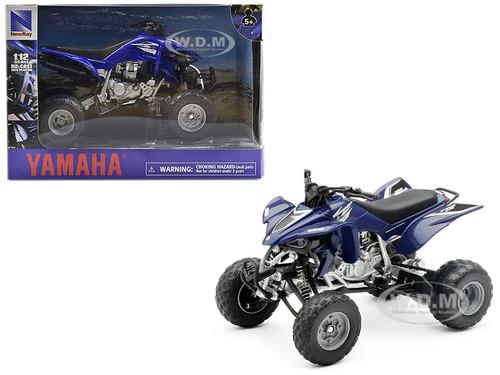 Yamaha YFZ 450 ATV 1/12 Motorcycle Model New Ray 42833 AS