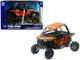 Polaris RZR XP1000 ATV Orange 1/18 Model New Ray 57823 S