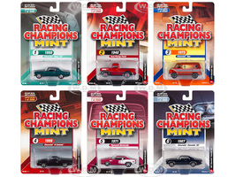 2018 Mint Release 3 Set B 6 Cars Limited Edition 2000 pieces Worldwide 1/64 Diecast Models Racing Champions RC009 B