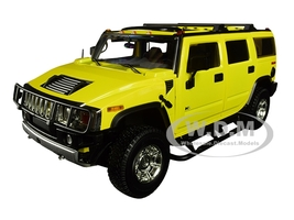 2003 Hummer H2 Yellow Entourage 2004 2011 TV Series 1/18 Diecast Model Car Highway 61 18015