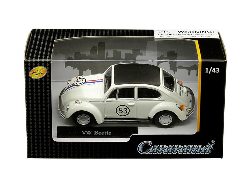 Volkswagen Beetle Racing #53 1/43 Diecast Model Car Cararama 41184