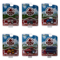 Down on the Farm Series 2 Set 6 pieces 1/64 Diecast Models Greenlight 48020