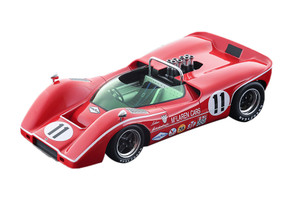 McLaren M6B Can-Am #11 Lothar Motschenbacher 3rd Place 1968 Bridgehampton GP Grand Prix Mythos Series Limited Edition 80 pieces Worldwide 1/18 Model Car Tecnomodel TM18-56 B