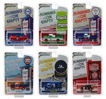 Running on Empty Series 7 Set 6 Cars 1/64 Diecast Model Cars Greenlight 41070