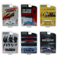 Hollywood Series Release 22 Set 6 Cars 1/64 Diecast Models Greenlight 44820