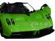 Pagani Huayra Roadster Green 1/24 Diecast Model Car Motormax 79354