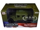 HMMWV Humvee Security Police Olive Green Drab 1/18 Diecast Model Car Autoworld AWML003 A