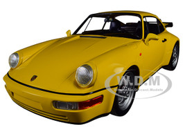 1990 Porsche 911 Turbo Yellow Limited Edition 600 pieces Worldwide 1/18 Diecast Model Car Minichamps 155069100