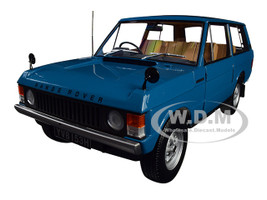 1970 Range Rover Land Rover Tuscan Blue 1/18 Diecast Model Car Almost Real 810101