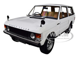 1970 Range Rover Land Rover White 1/18 Diecast Model Car Almost Real 810102