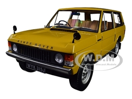 1970 Range Rover Land Rover Bahama Gold 1/18 Diecast Model Car Almost Real 810103