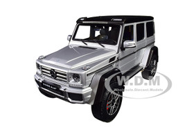 Mercedes Benz G Class 4×4² Iridium Silver Black Top 1/18 Diecast Model Car Almost Real 820204