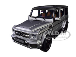 Mercedes AMG G 63 Silver 1/18 Model Car Autoart 76323