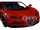 Bugatti Chiron Sport 16 Red Black Special Edition 1/24 Diecast Model Car Maisto 31524