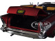1957 Chevrolet Bel Air Convertible Satin Red Auto Mods Limited Edition 5880 pieces Worldwide 1/24 Diecast Model Car M2 Machines 40300-68 B