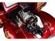 1941 Gasser Hooker Headers Metallic Red 1/18 Diecast Model Car Acme A1800910