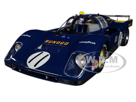 Ferrari 512M #11 Mark Donohue David Hobbs Sunoco 1971 Le Mans Masterpiece Collection Limited Edition 948 pieces Worldwide 1/18 Diecast Model Car GMP ACME M1801001