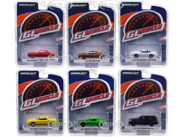 Greenlight Muscle Series 21 Set 6 Cars 1/64 Diecast Model Cars Greenlight 13230