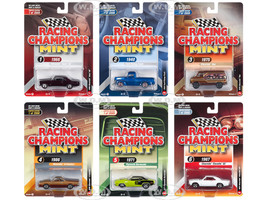 2018 Mint Release 3 Set A 6 Cars Limited Edition 2000 pieces Worldwide 1/64 Diecast Models Racing Champions RC009 A