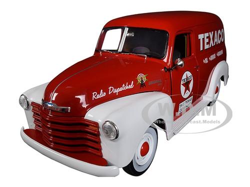 1939 schwarz rot Modellauto 1:24 Chevrolet Panel Van Phillips 66 Petroleum Co