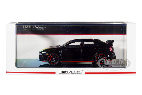 Honda Civic Type R Crystal Black Pearl 1/43 Model Car True Scale Miniatures 430270