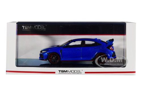 Honda Civic Type R Aegean Blue Metallic 1/43 Model Car True Scale Miniatures 430271