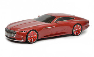 Mercedes Maybach Vision 6 Coupe Red 1/18 Model Car Schuco 450006700