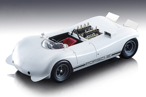 1968 Porsche 909 Bergspyder White Presentation Hockenheim Mythos Series Limited Edition 70 pieces Worldwide 1/18 Model Car Tecnomodel TM18-84 A