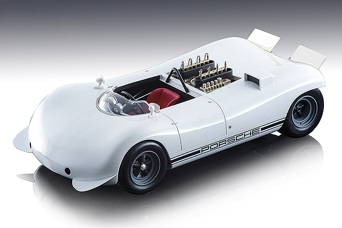 1968 Porsche 909 Bergspyder White Presentation Hockenheim Mythos Series Limited Edition 70 pieces Worldwide 1/18 Model Car Tecnomodel TM18-84 A