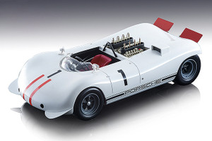 Porsche 909 Bergspyder #1 Gerhard Mitter 1968 Mont Ventoux Hill Climb Mythos Series Limited Edition 80 pieces Worldwide 1/18 Model Car Tecnomodel TM18-84 B