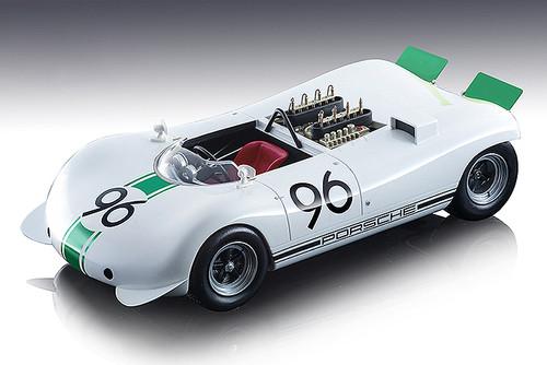 Porsche 909 Bergspyder #96 Rolf Stommelen 1968 Gaisberg Rennen Hill Climb Mythos Series Limited Edition 80 pieces Worldwide 1/18 Model Car Tecnomodel TM18-84 E