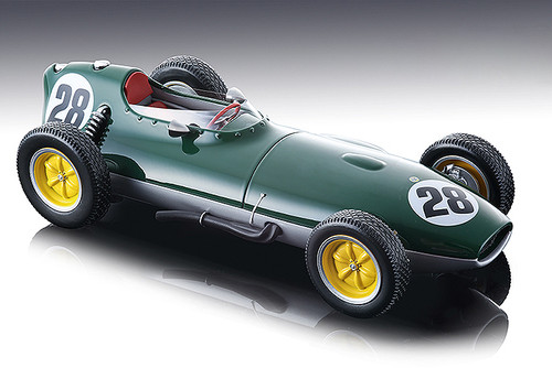 Lotus 16 #28 Graham Hill 1959 F1 Formula 1 Championship Aintree British Grand Prix Mythos Series Limited Edition 100 pieces Worldwide 1/18 Model Car Tecnomodel TM18-123 D