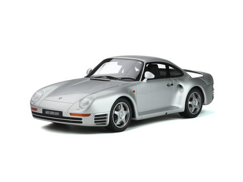 Porsche 959 Silver 1/12 Model Car GT Spirit GT218