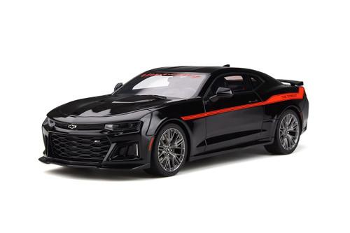 Chevrolet Camaro ZL1 The Exorcist Hennessey Performance Black Red Stripes 1/18 Model Car GT Spirit GT225